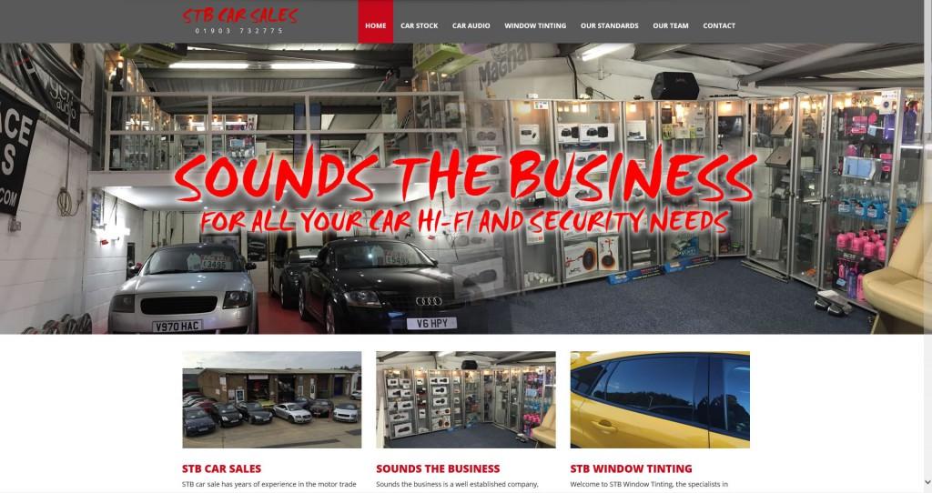 stb-car-sales-website