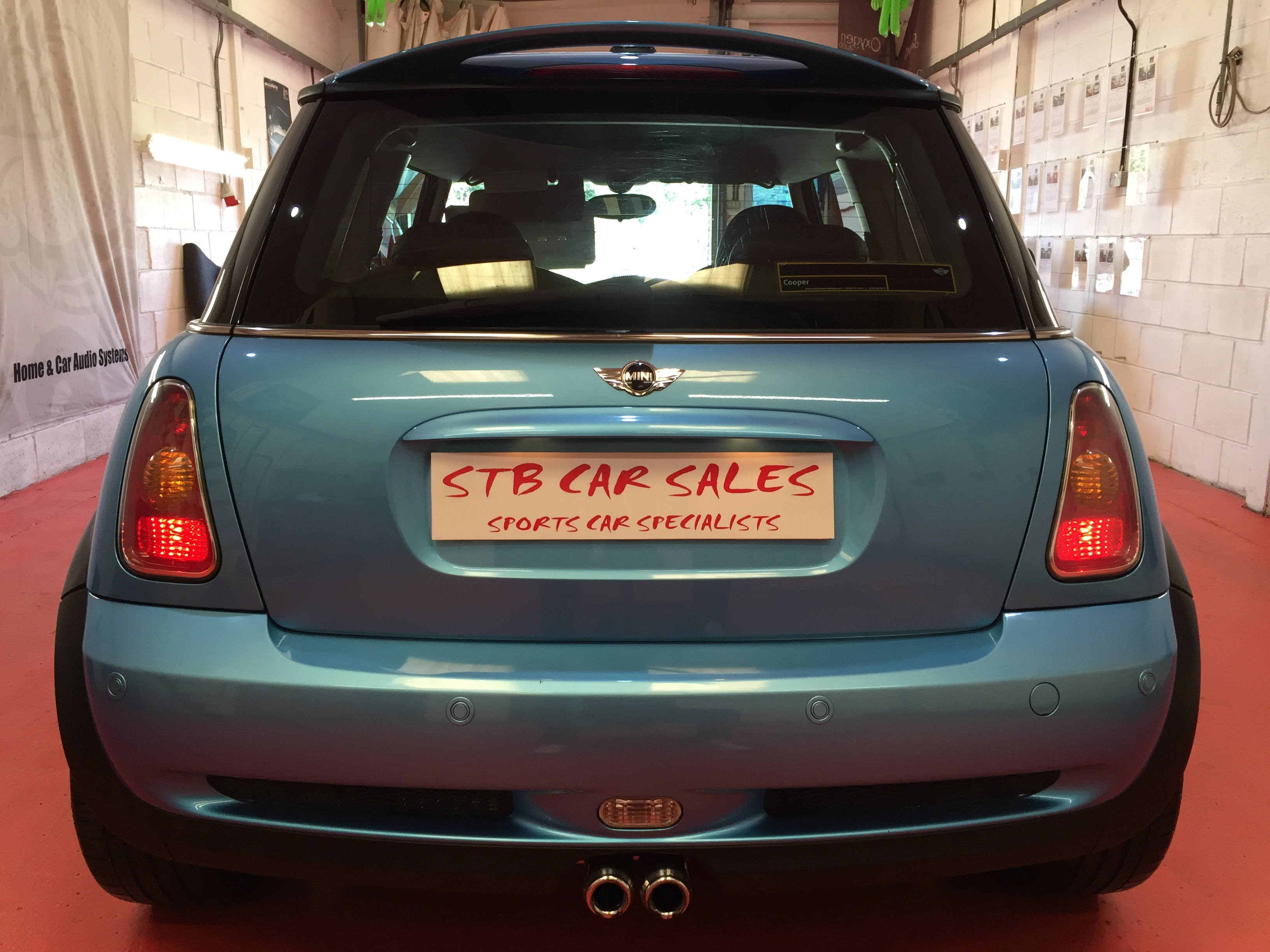 Mini 16 Chili Cooper S In Stunning Blue Stb Cars Sales Car Audio Inventory Listing